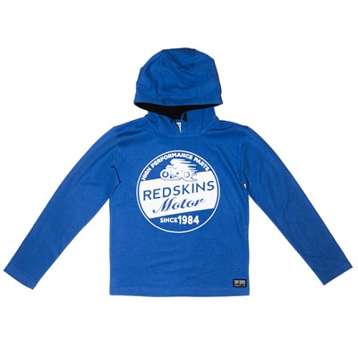 REDSKINS Sweat à capuche - bleu