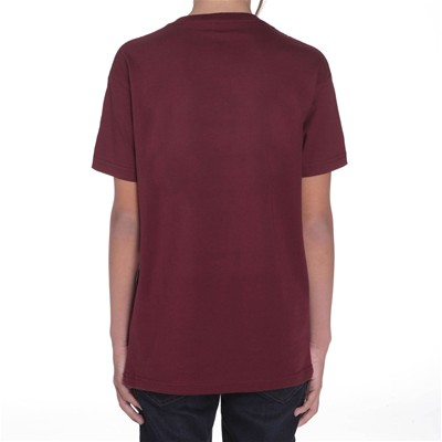 Circle Stone - T-shirt - bordeaux