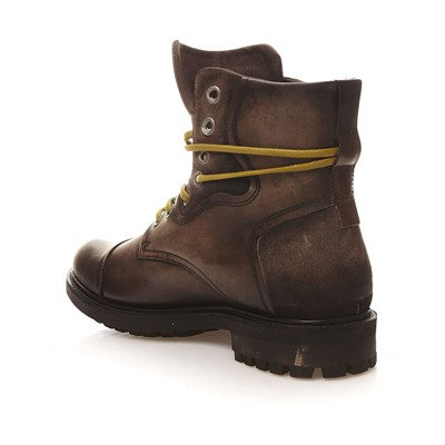 BUNKER RESCUE - Bottines en cuir - bronze