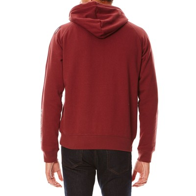 OXBOW Skiff - Sweat à capuche - rouge