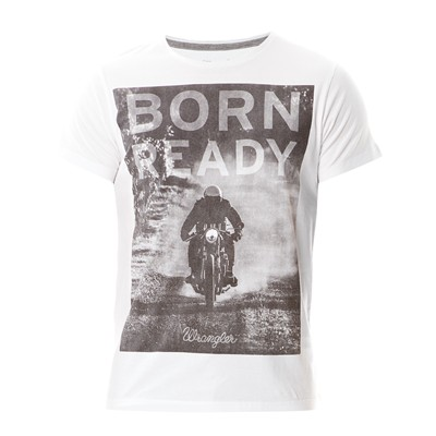 Born Ready - T-shirt - blanc
