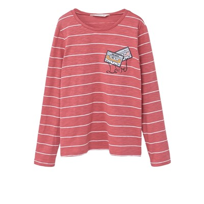 MANGO KIDS T-shirt - rouge