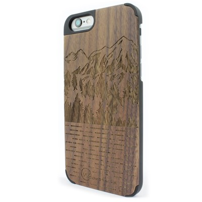 WOODSTACHE Coque pour iPhone 6-6S Mammoth - marron