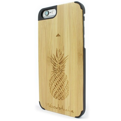 WOODSTACHE Tropical - Coque pour iPhone 6 et 6S - beige