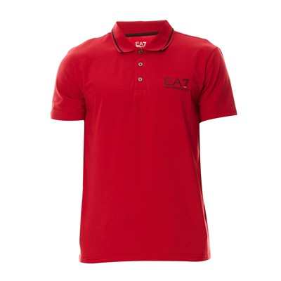 EA7 Polo - rouge
