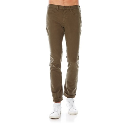 Five Pocket slim stretch - Slim - kaki