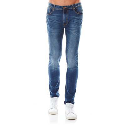 SOULSTAR MP AQUA - Jean slim - denim bleu
