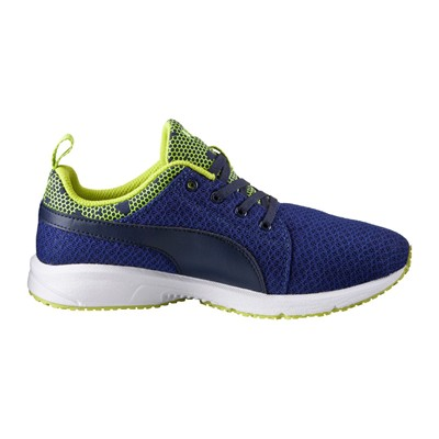 PUMA JR Carson Night Camo - Baskets - bleu marine