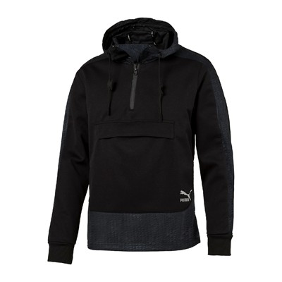PUMA Evo Embossed Savannah - Sweat à capuche - noir