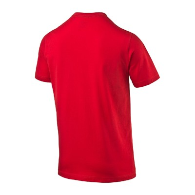 PUMA Hero Logo Tee - T-shirt - rouge