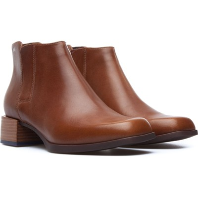 Kobo - Bottines en cuir - marron