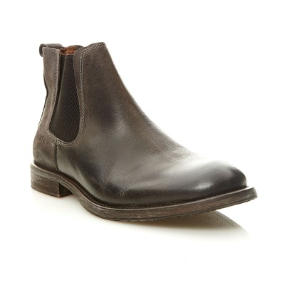 BUNKER BEAT - Bottines en cuir - noir