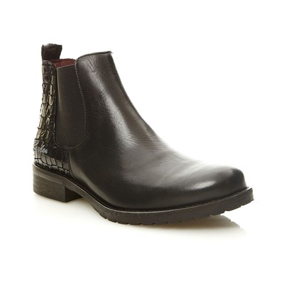 FRESA - Bottines en cuir - noir