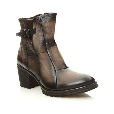 SADIE - Bottines en cuir - sable