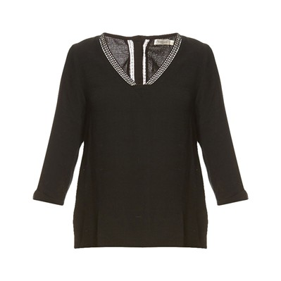 Nancy - Blouse - noir