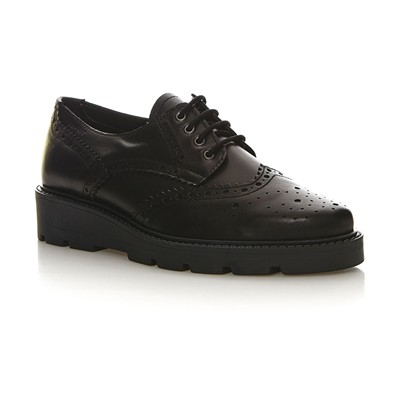ESPRIT Josette Lace Up - Derbies en cuir - noir