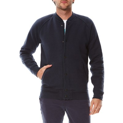 Fleece Bomber - Sweat zippé - noir