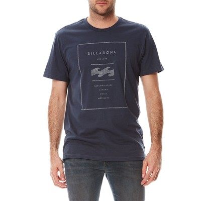 BILLABONG Reversed ss - T-shirt - bleu