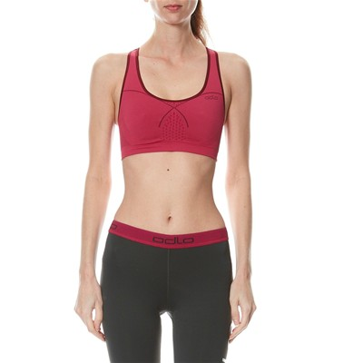 ODLO Seamless Medium Sports Bra - Brassière - fuchsia