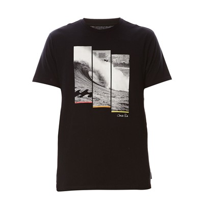 BILLABONG Cp triwave - T-shirt - noir