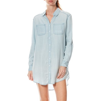 Got the blues - Robe chemise - bleu