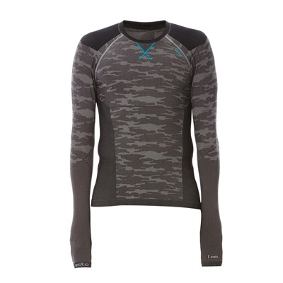 EVOLUTION WARM Blackcomb - T-shirt - gris