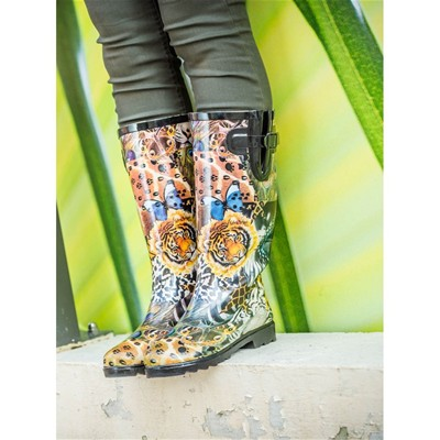 BE ONLY Savane - Bottes - imprimé