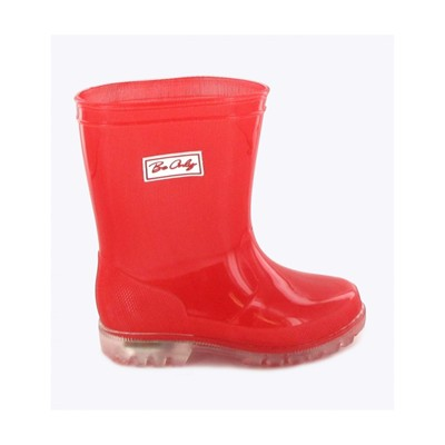 BE ONLY Flash Dotty - Bottes LED - rouge