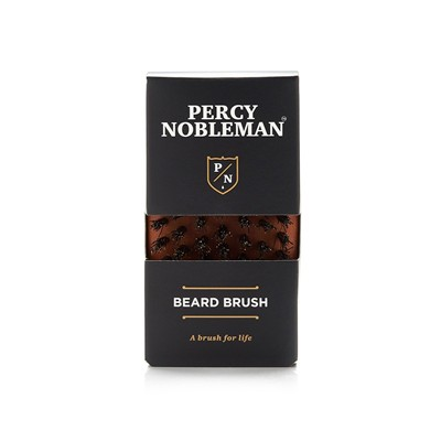 PERCY NOBLEMAN Brosse à barbe - marron