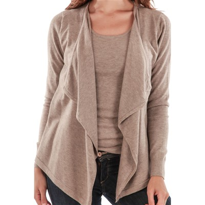 Maille Gilet Love Gilet Maille Love Taupe qUSOTqn