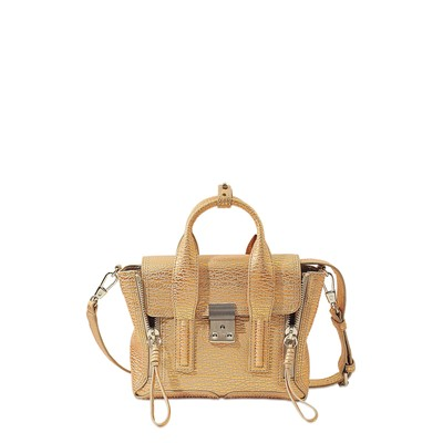 Pashli Satchel - Sac à main en cuir - multicolore