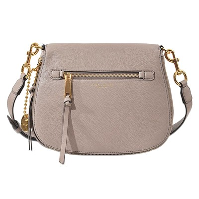 Recruit Saddle - Besace en cuir - gris clair