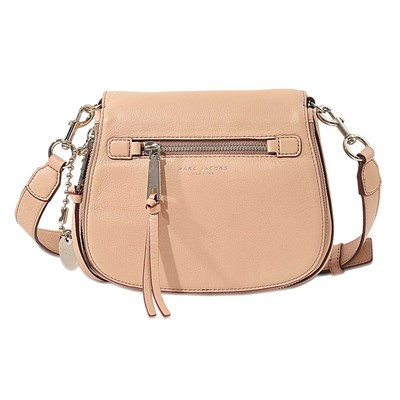 Recruit Small Saddle - Besace en cuir - rose clair