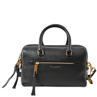 Bauletto - Sac doctor bag en cuir - noir