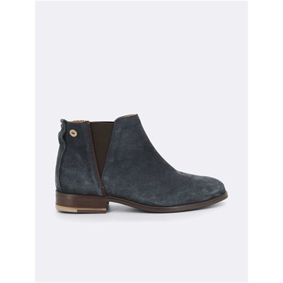 FAGUO Cherry - Bottines en daim - bleu