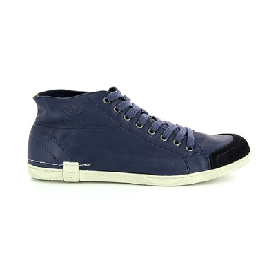 PLDM BY PALLADIUM Duke Vac - Baskets en cuir - bleu brut
