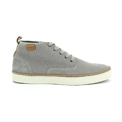 PLDM BY PALLADIUM Fastness mix - Baskets en cuir mélangé - gris clair