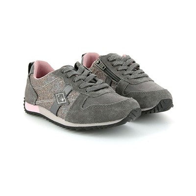 PLDM BY PALLADIUM Fenway - Baskets en cuir - gris foncé