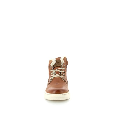 PLDM BY PALLADIUM Galax - Baskets montantes en cuir - marron