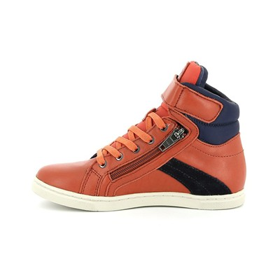 PLDM BY PALLADIUM Veleda - Baskets montantes en cuir - orange
