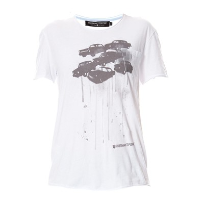 Mallow Cars - T-shirt - blanc