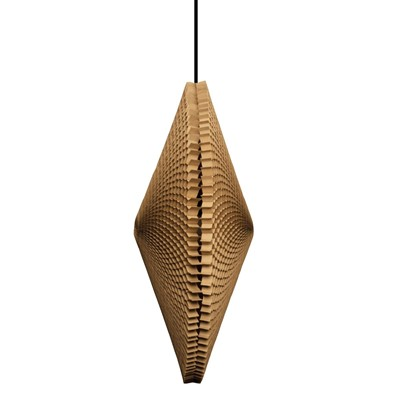 TUNG DESIGN Flying Saucer - Suspension - marron clair