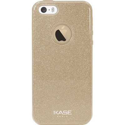 THE KASE Coque pour iPhone 5/5S/SE - or