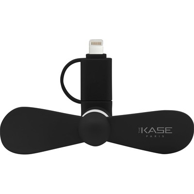 The Kase mini ventilateur de smartphone - noir