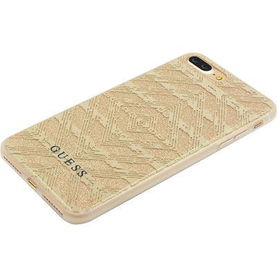 THE KASE Coque pour iPhone 7+ - or