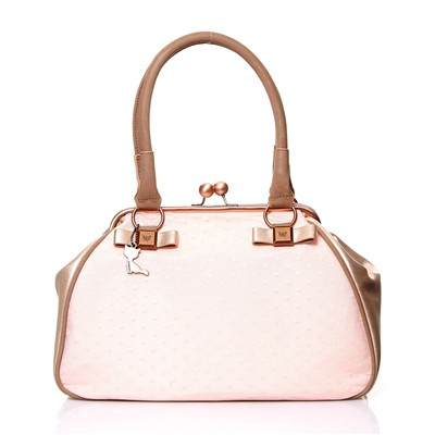 Yber - Doctor bag en dentelle - rose
