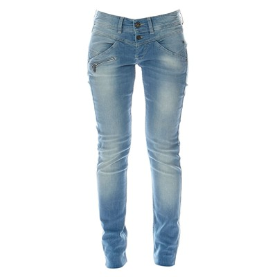 FREEMAN T PORTER Jean slim - denim bleu