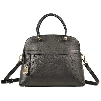 Piper M Dome - Sac à main en cuir - noir