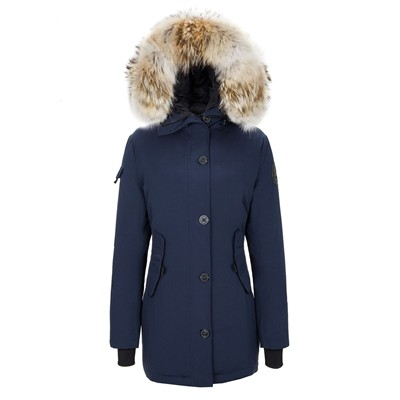 Expedition - Parka - bleu marine