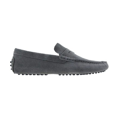 THE WEEKENDERS Mocassins en cuir - gris